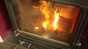 wood burnign stove pollution